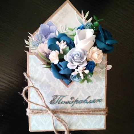 Цветочный конверт - 01