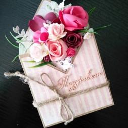 Цветочный конверт - 02